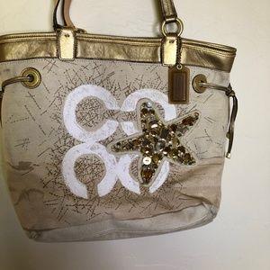 ⭐️Coach Beach Handbag